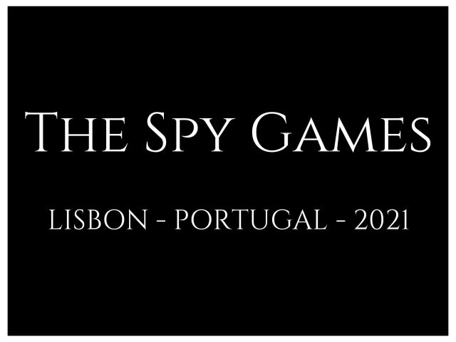 The Spy Games by Glamoux Portugal
